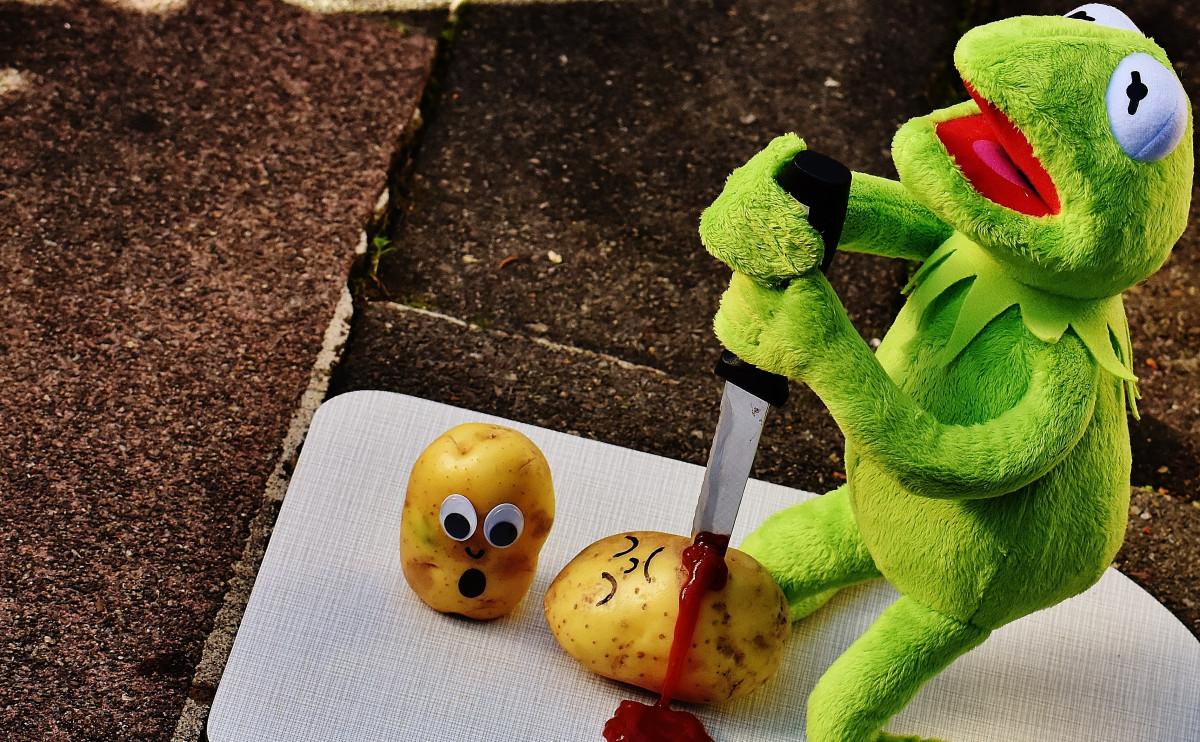 gratis billeder nuttet gr248n fr248 gul kniv sidde