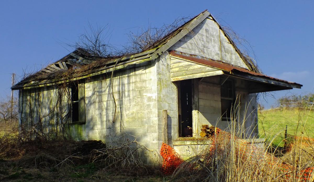 Hiking, Farm, House, Building, Barn, Home