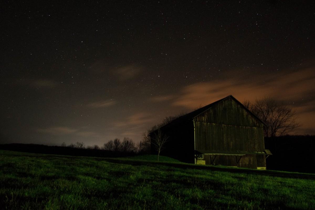 light sky field farm night sunlight star barn atmosphere evening darkness aurora astronomical object