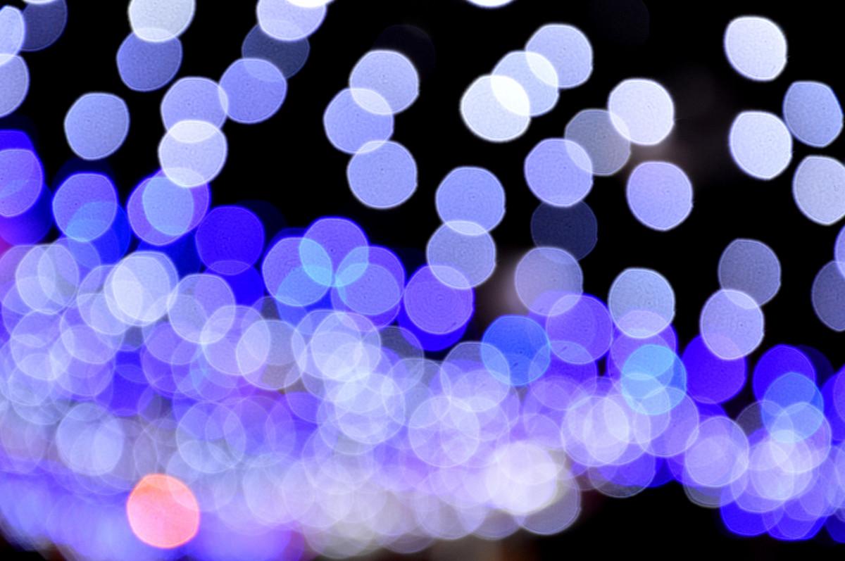 Round White Christmas Lights