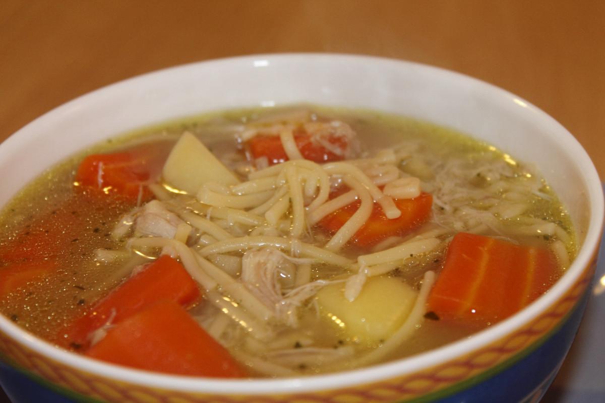 Рецепт суп куриный лапша рецепт