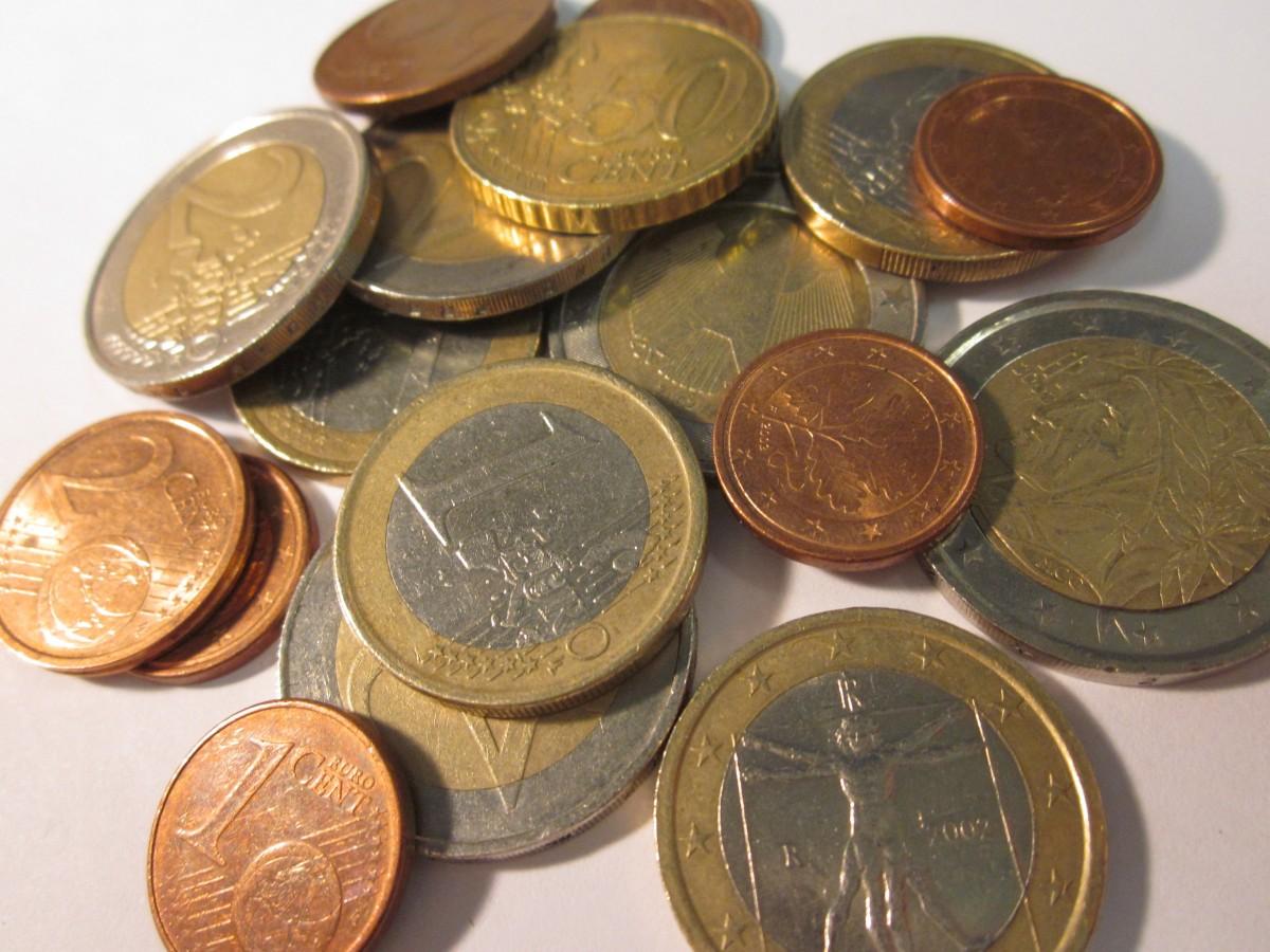 images gratuites argent devise euro pi232ce de monnaie