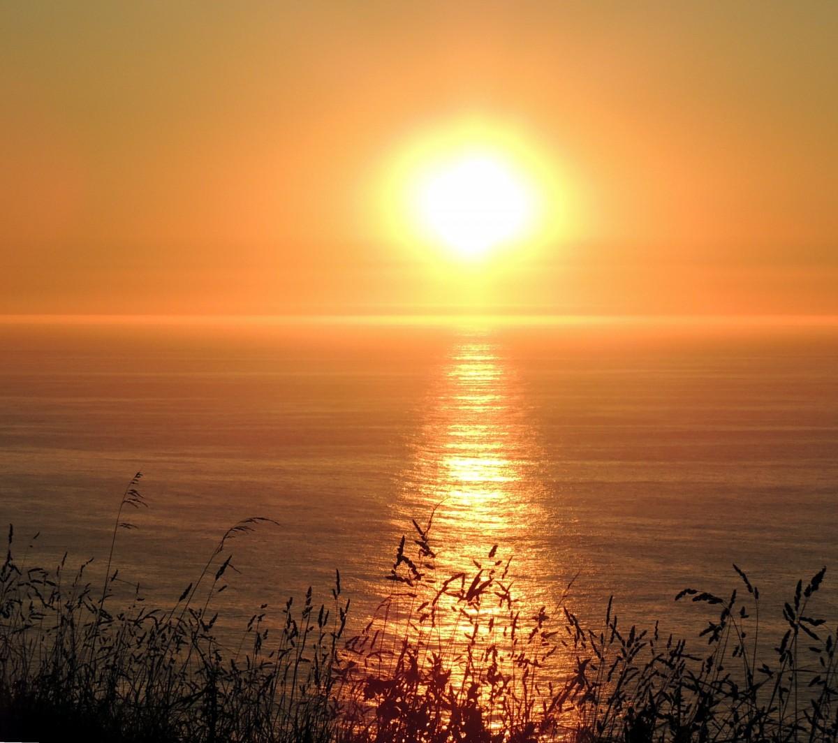Сделать открытку, картинка восход солнца на море