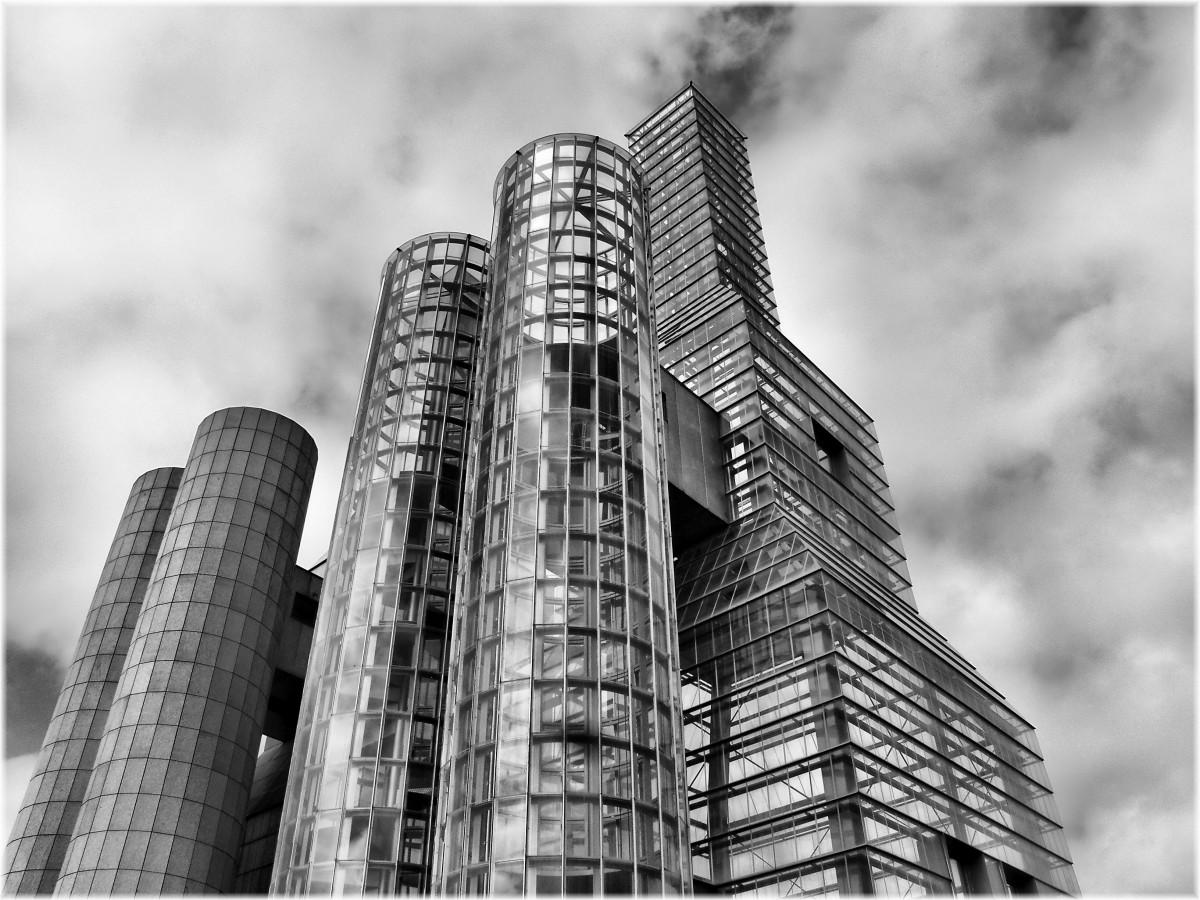 Fotos gratis en blanco y negro arquitectura edificio for Arquitectura en linea gratis