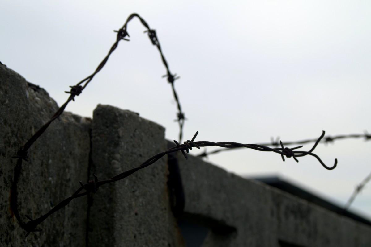 Free Images : fence, sky, escape, steel, line, metal, abandoned ...