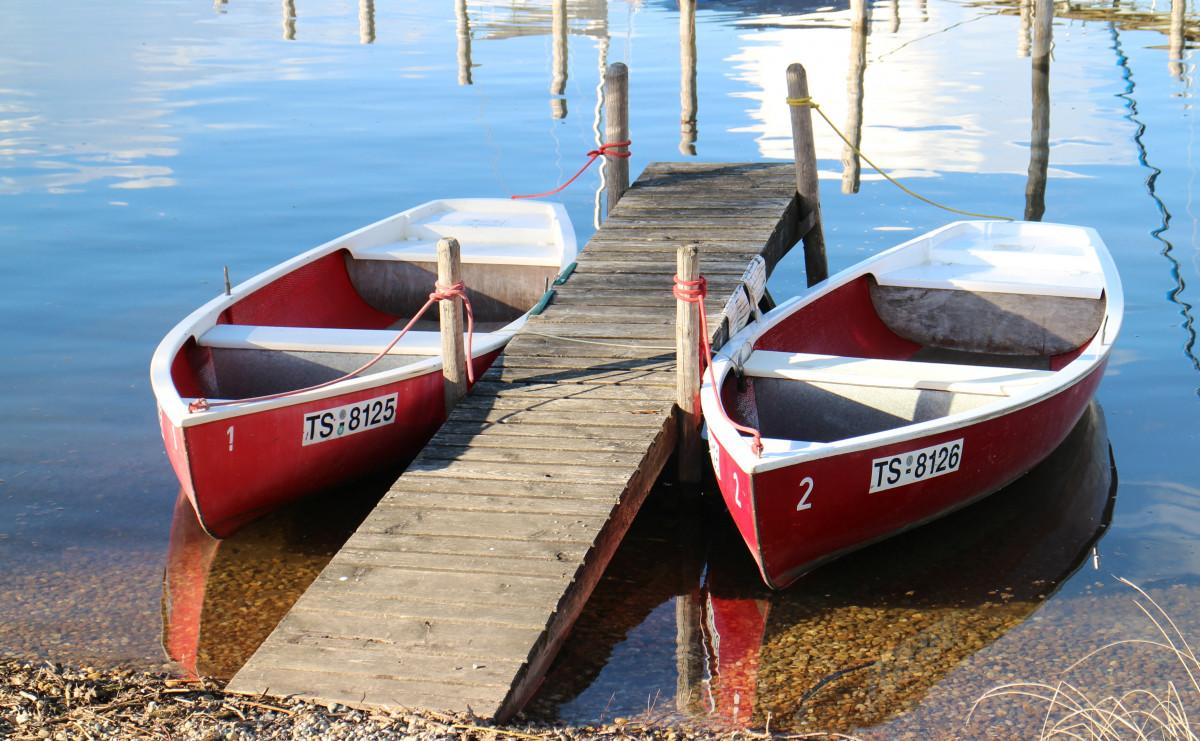 гребные лодки океан
