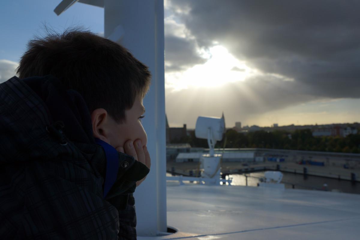 ligero perspectiva clima niño panorama adelante expectativa rayo de esperanza