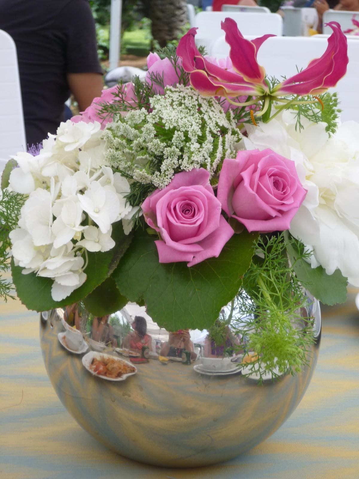 Images gratuites fleur romantique rose fleuriste for Bouquet de fleurs centre de table
