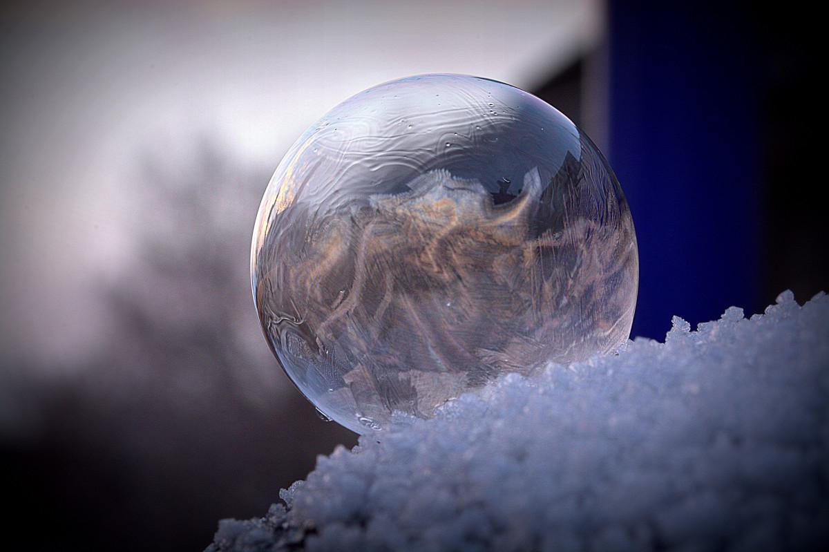 agua, nieve, frío, ligero, estructura, fotografía