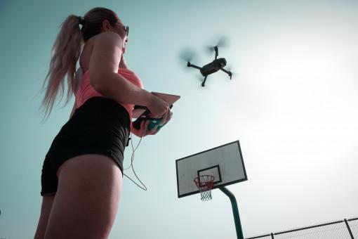 Free Images : bag, camera, dji, djimavic, drone cam, fashion, girl, person, sexy, wear, woman ...