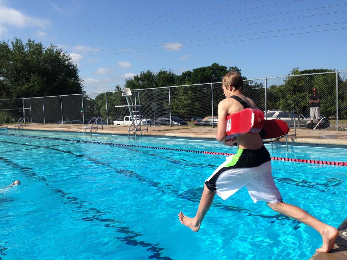 Swimming Pool Training : Free images lifeguard swimming pool training leisure