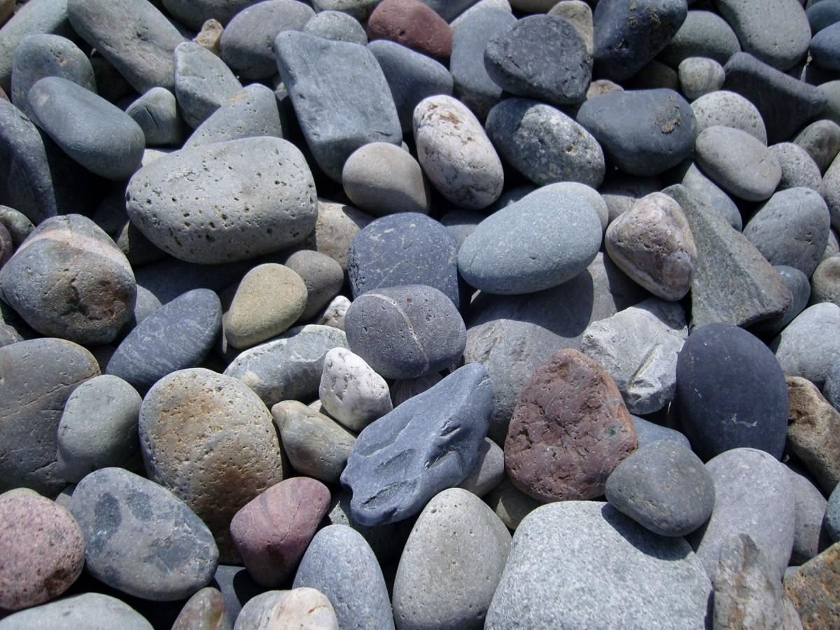 Hình ảnh đá Cuội Viên Sỏi Vật Chất Màu Xám đống đổ Nát