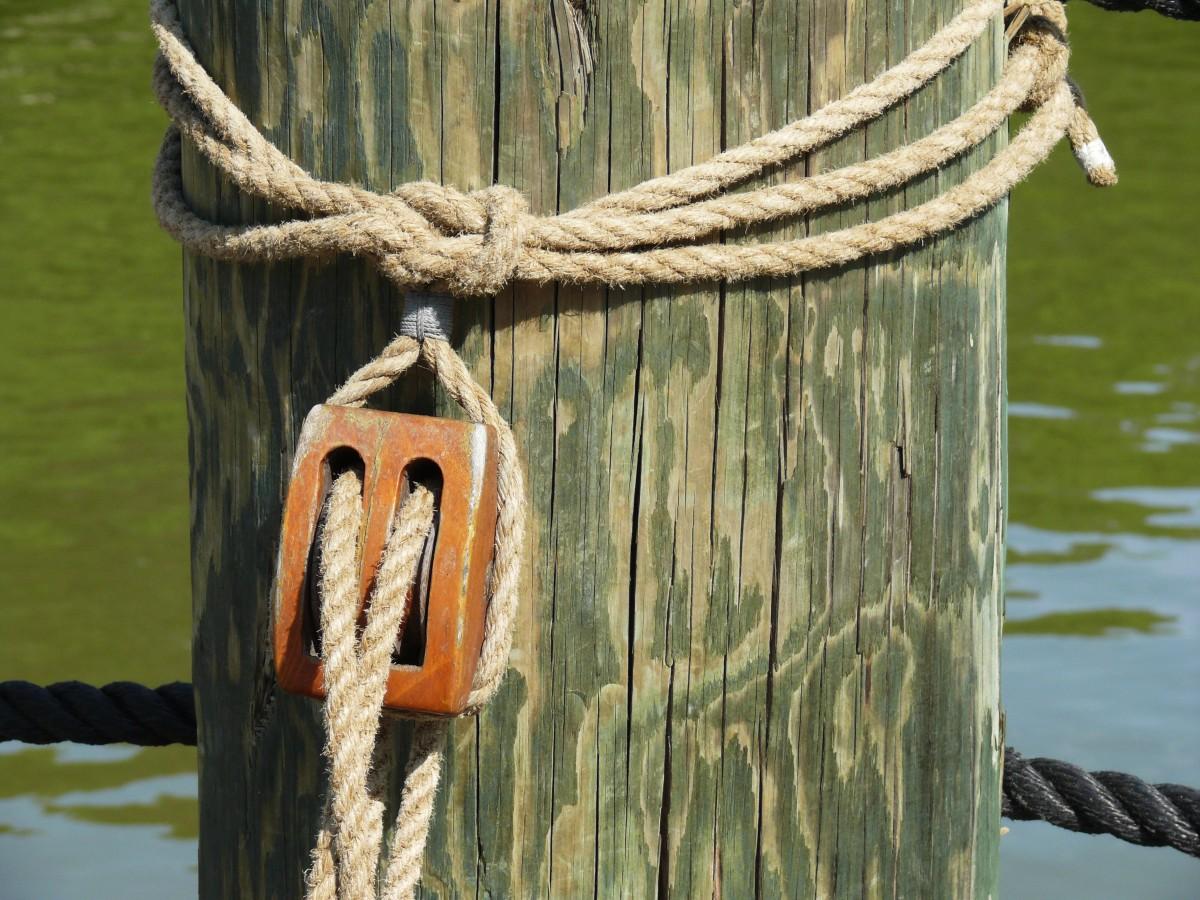 Images gratuites branche corde cl ture bois bateau for Cloture bois flotte