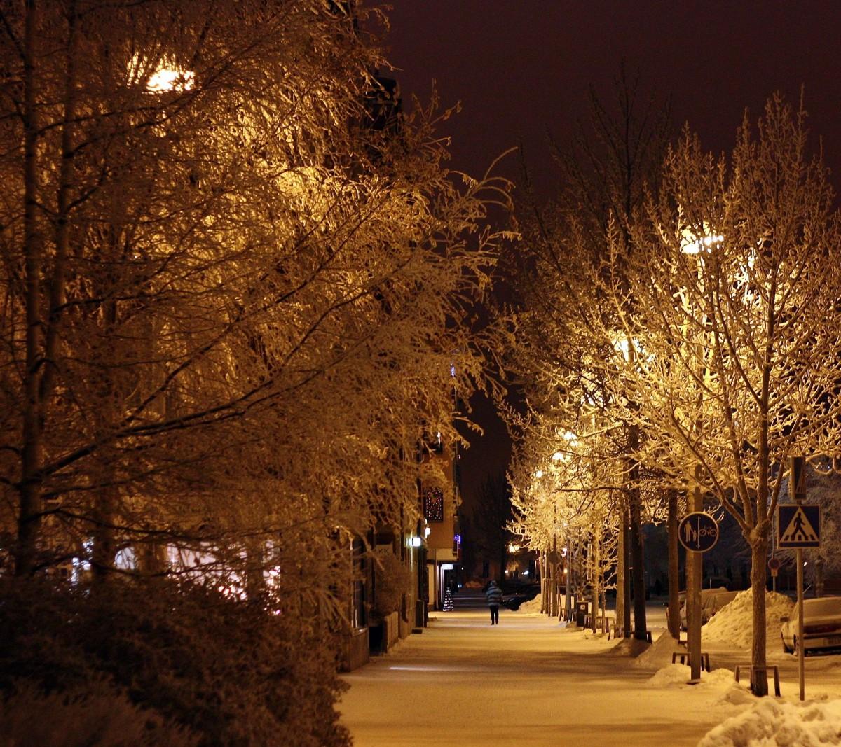 магазинах для снег ночь улица картинки любители