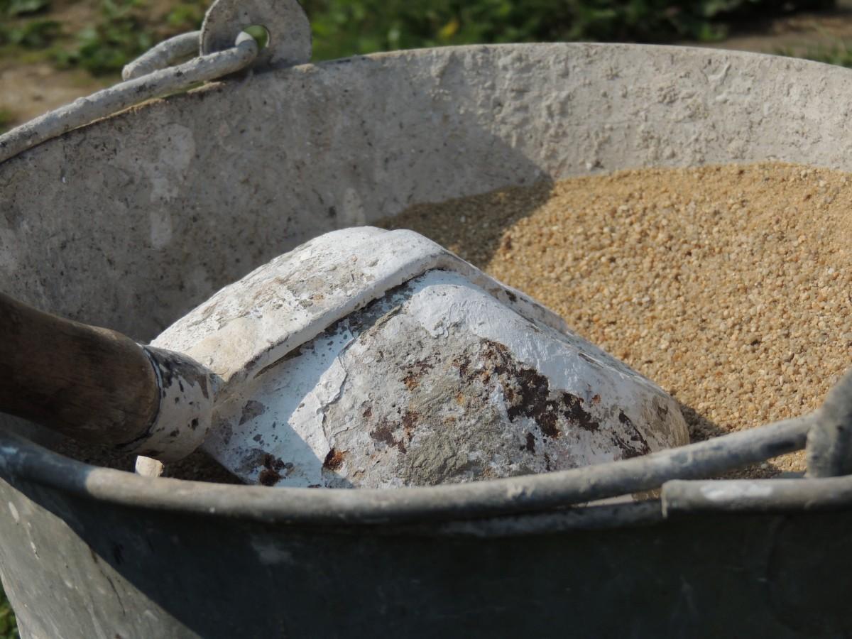 Картинка ведро с песком для дворника