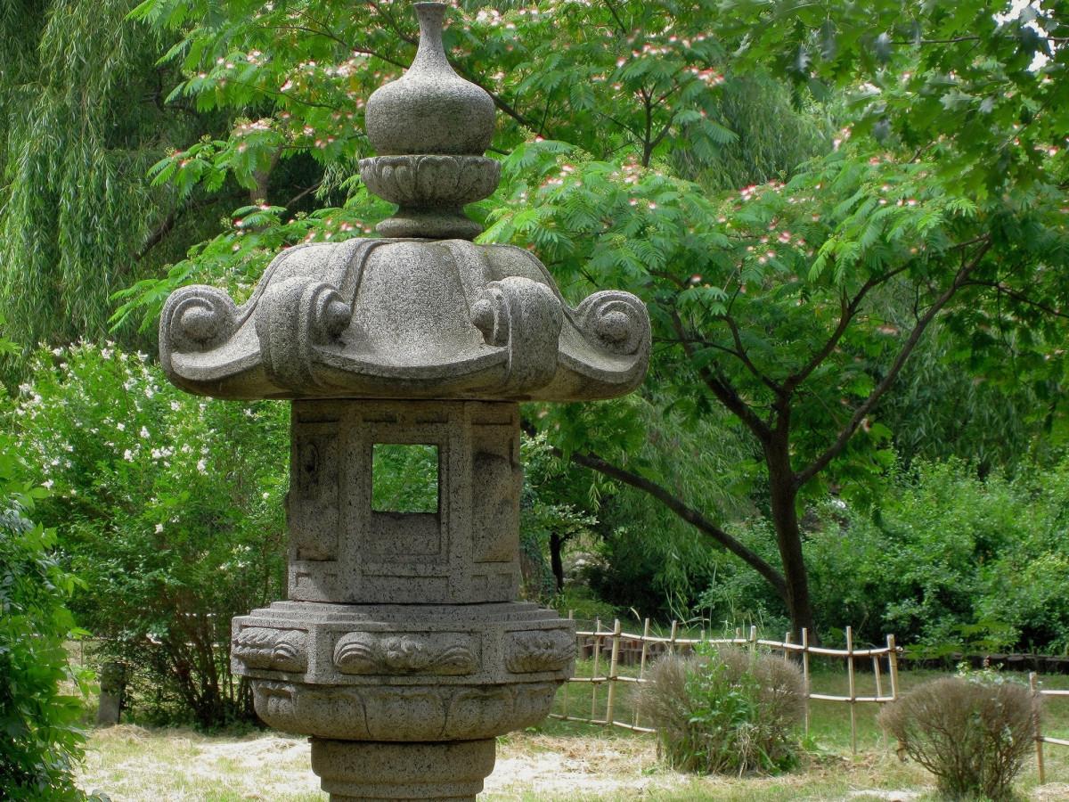Statue japonaise pour jardin perfect statue statuette - Statue deco jardin exterieur toulouse ...