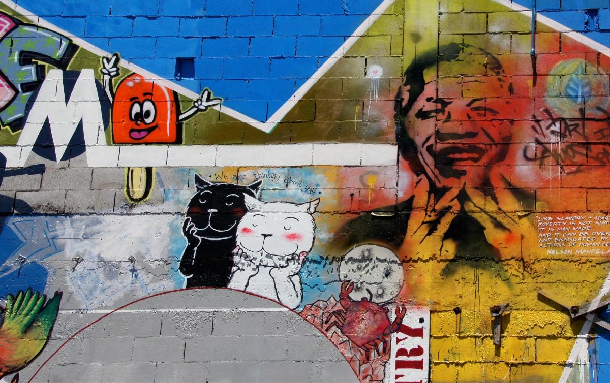 Graffiti wall christchurch - Road Street Wall Color Graffiti Street Art