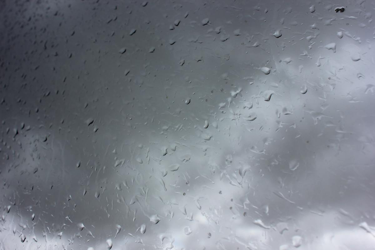 Имитация дождя на картинках