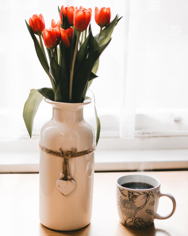 Gambar Vas Pot Bunga Jeruk Artefak Keramik Menanam Tanaman Rumah Kendi Hidup Masih Fotografi Bunga Potong Bunga Tulp Mason Jar Bunga Buatan Meja Barang Tembikar Pasu Desain Interior Kaca Batang Tanaman