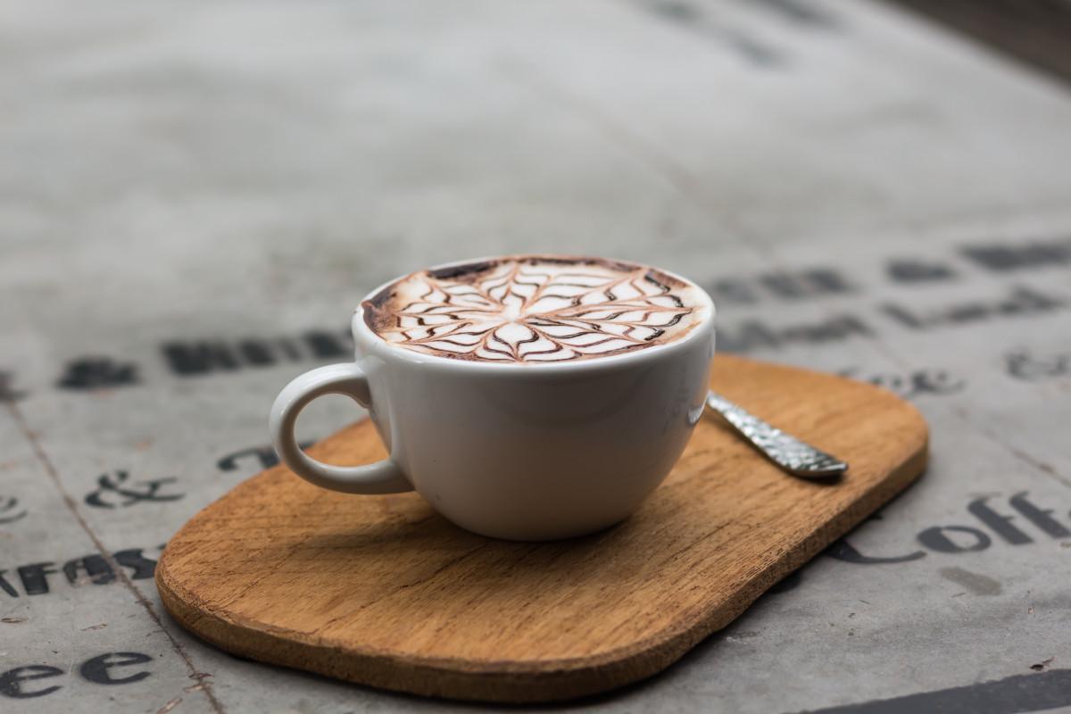 Gambar manis latte coklat panas cappuccino pola makanan kopi manis cangkir latte coklat panas cappuccino thecheapjerseys Gallery