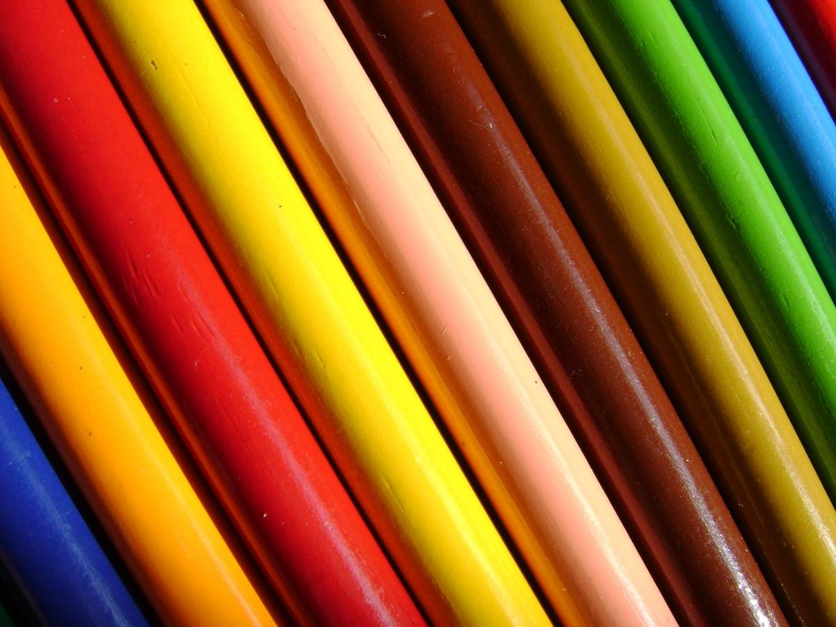 Images gratuites crayon ligne vert rouge couleur - Image arc en ciel gratuite ...