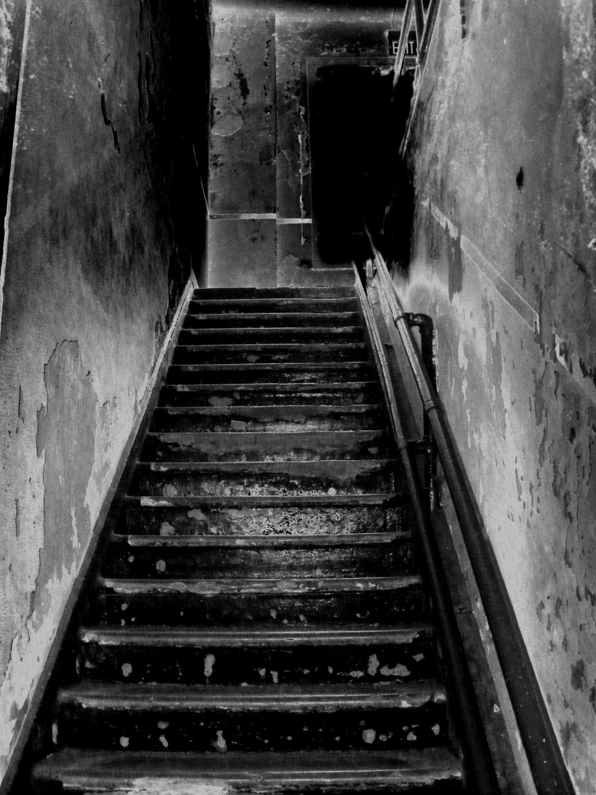 Fotos gratis ligero en blanco y negro arquitectura for Escalera 5 pasos afuera