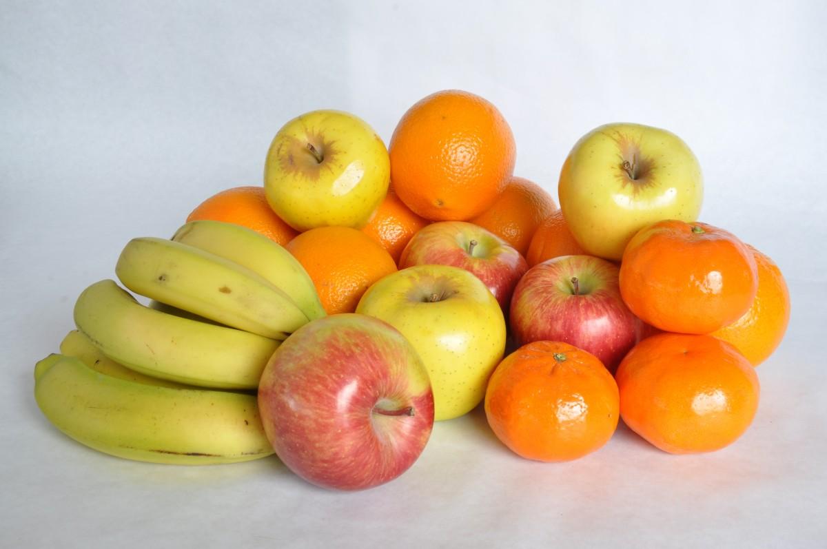 символизируют картинка яблоко банан апельсин зте сочетают невысокую