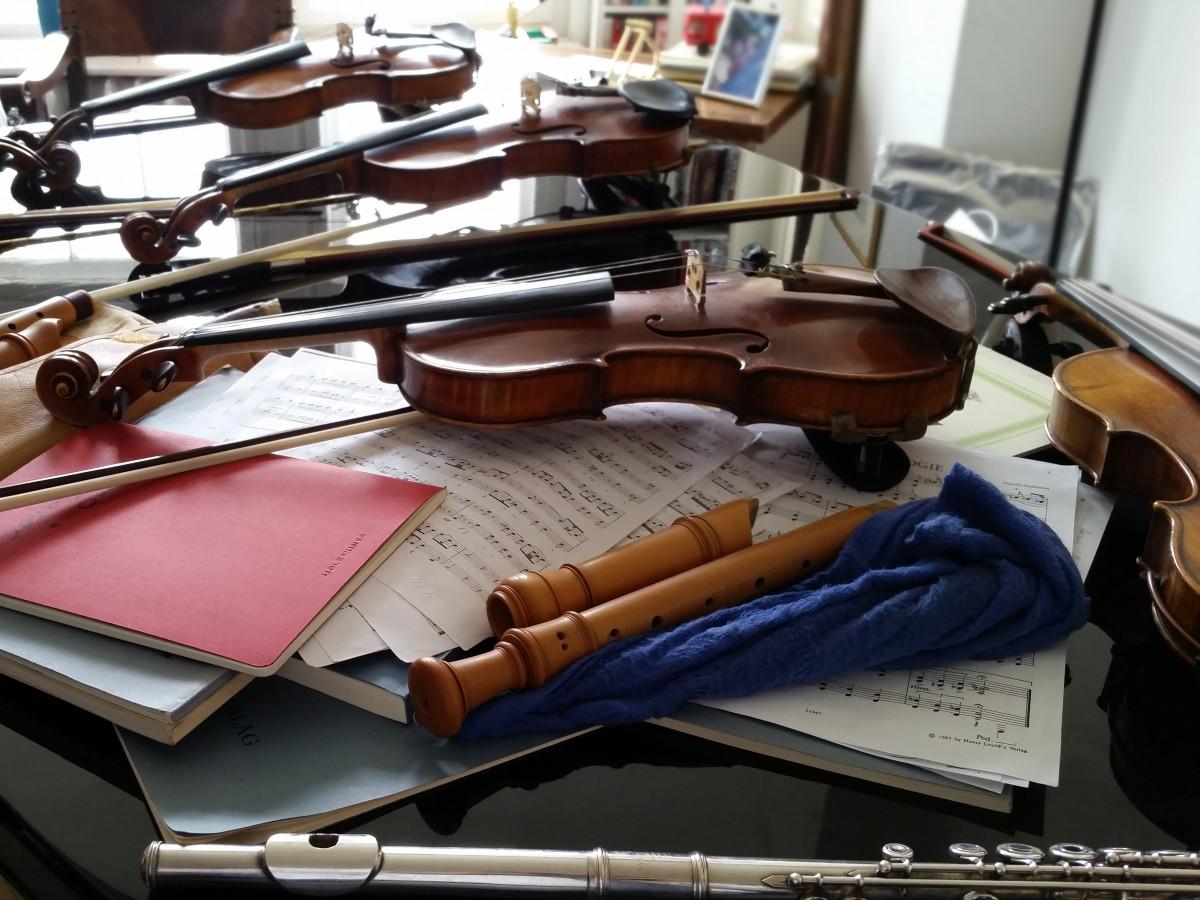 la musique instrument arme violon enregistreur pistolet fusil classique flûte instruments de musique arme à feu
