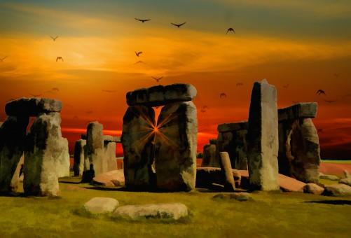 paisaje,al aire libre,rock,cielo,sol,puesta de sol