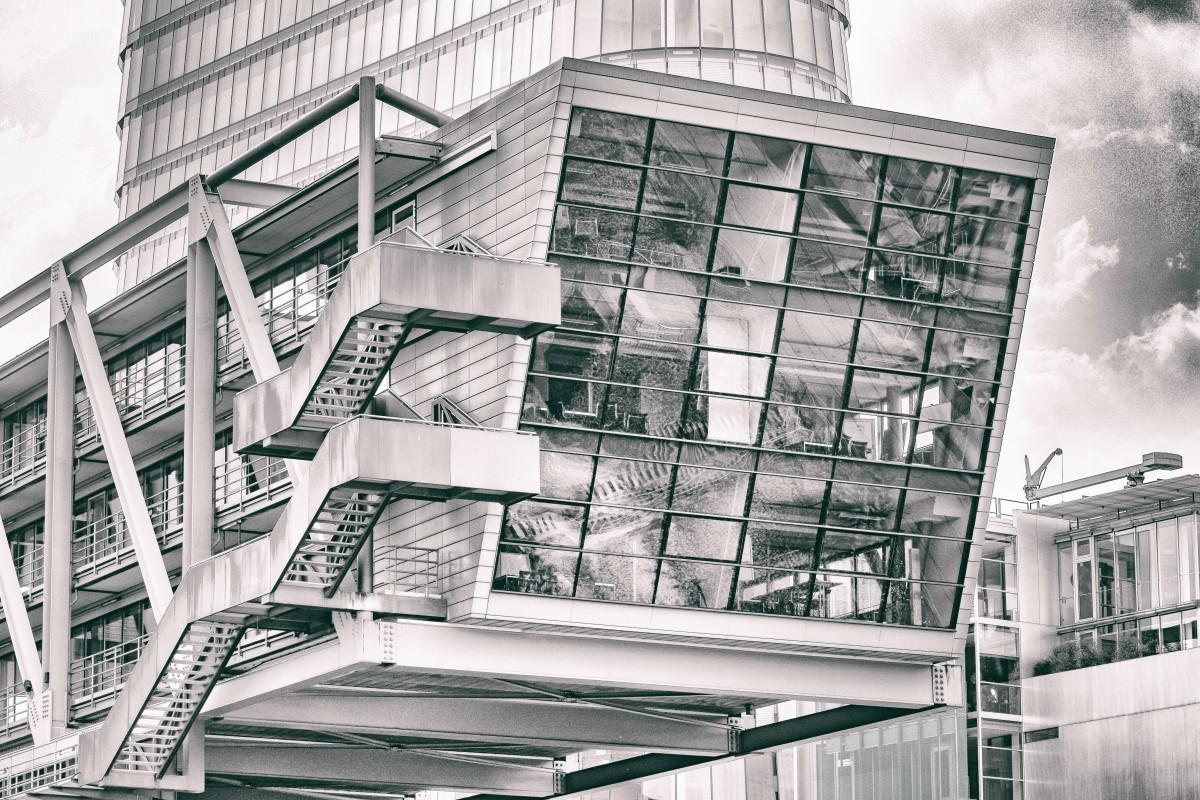 Images gratuites noir et blanc architecture maison for Architecture et design d interieur