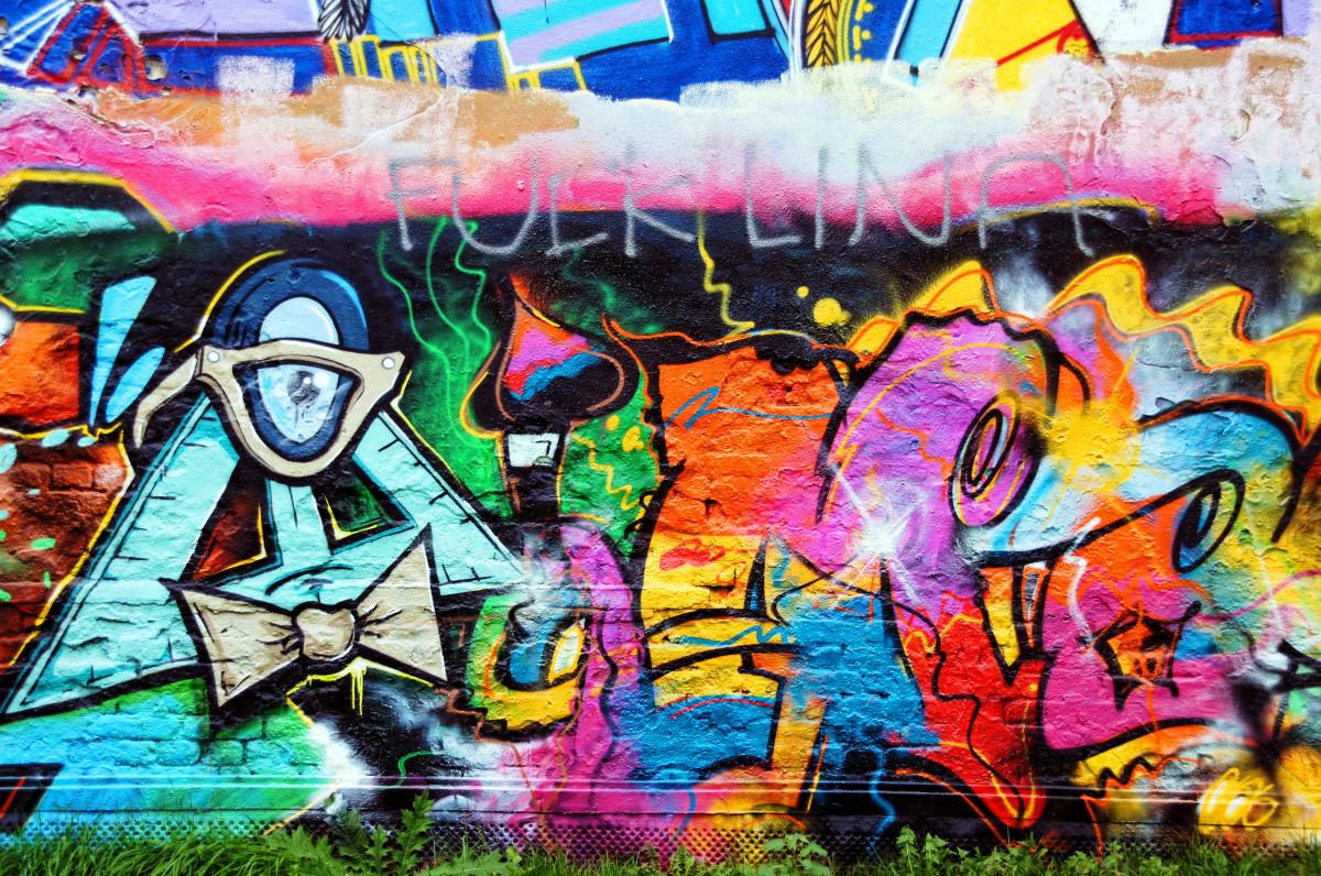 почти фото граффити для начинающего фотографии сделаны