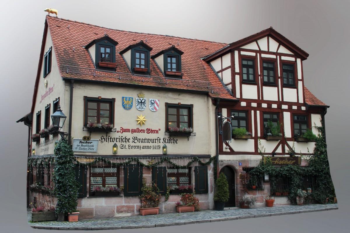 Malerisch Innenarchitektur Nürnberg Galerie Von Restaurant E Fassade Alte Stadt Mittelalter Nürnberg