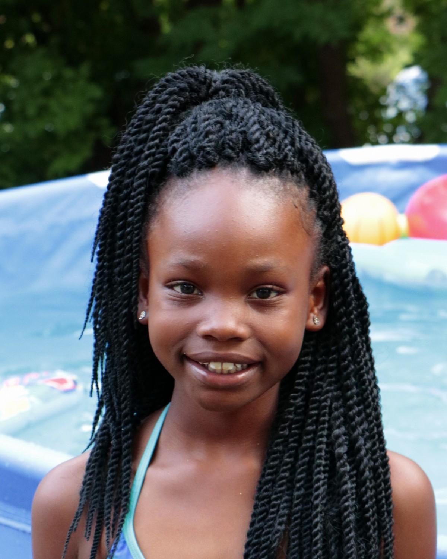 Young black girl tube