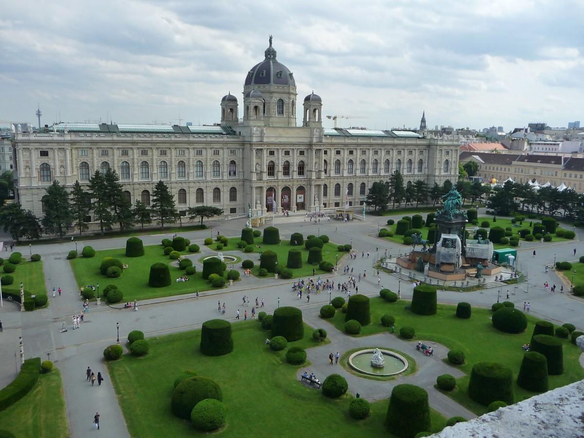 bâtiment château palais musée espace place point de repère Vienne Place de ville biens Vienne Kunsthistorisches musée