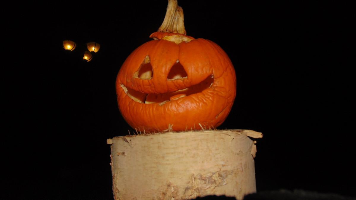 free images decoration yellow jack o lantern halloween