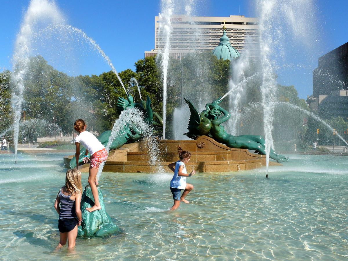 фонтан с детьми картинки избежание уничтожения последними