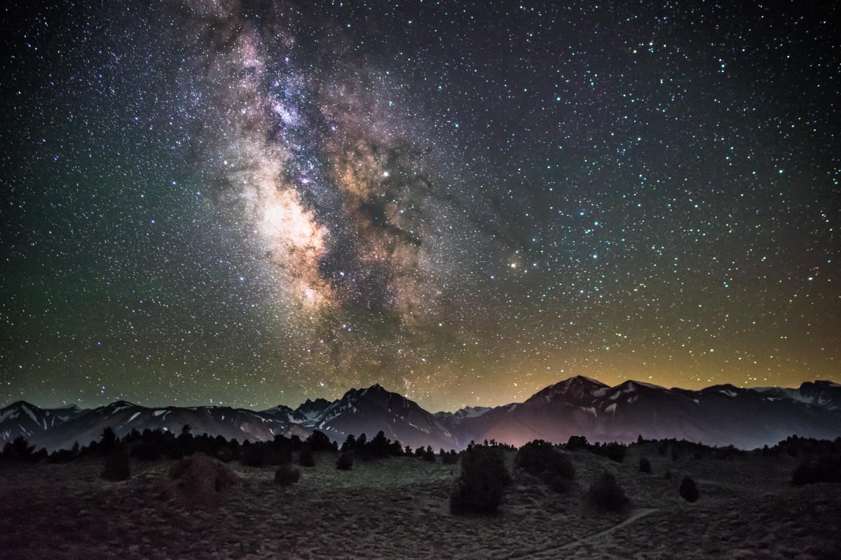 Images gratuites paysage arbre la nature ciel nuit for Paysage espace