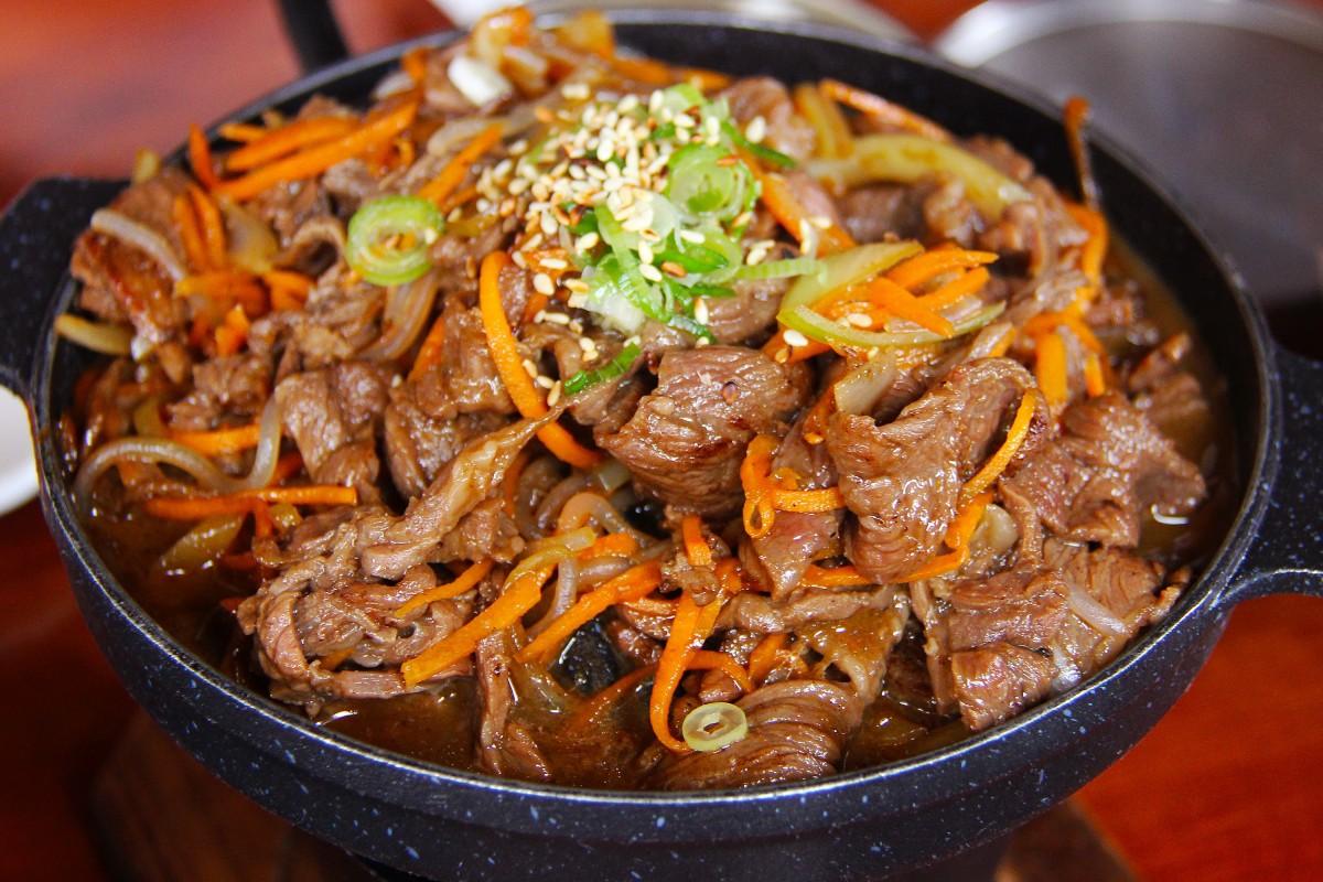 Рецепт жаркого из говядины с пошаговыми