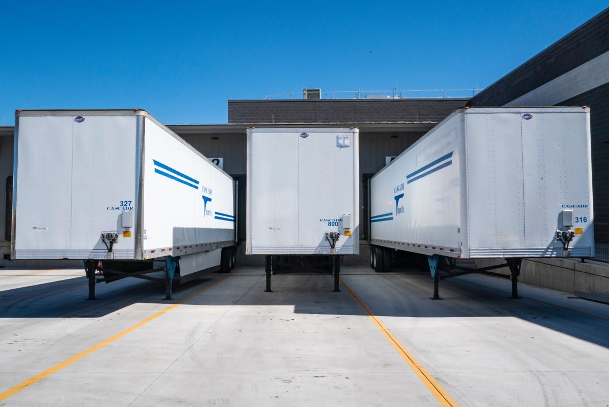 transporte Flete de transporte vehículo remolque camión de remolque carga utilidad publica contenedor de envío