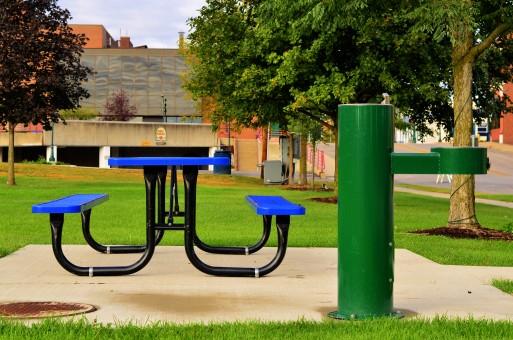 table bois extérieur enfant