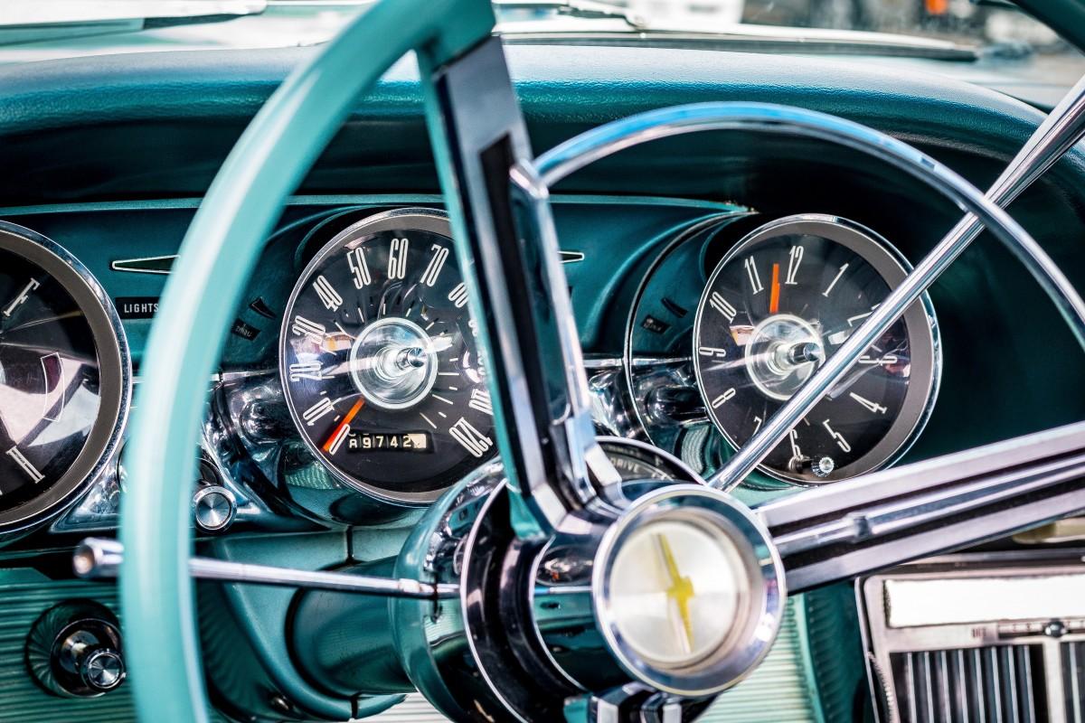 free images   spoke  steering wheel  dashboard  speedometer  classic car  motor vehicle  vintage