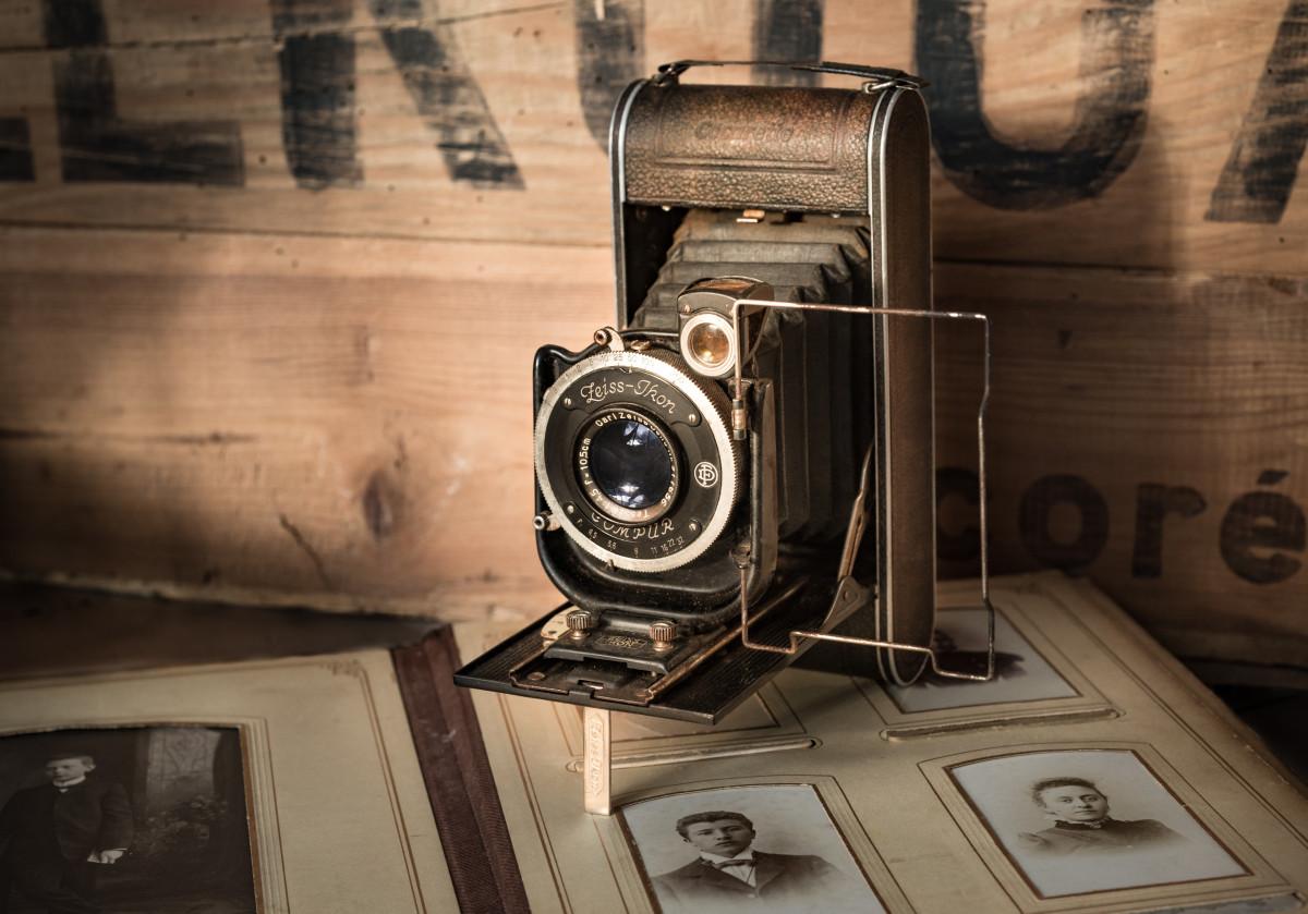 Ретро картинки с фотоаппаратом