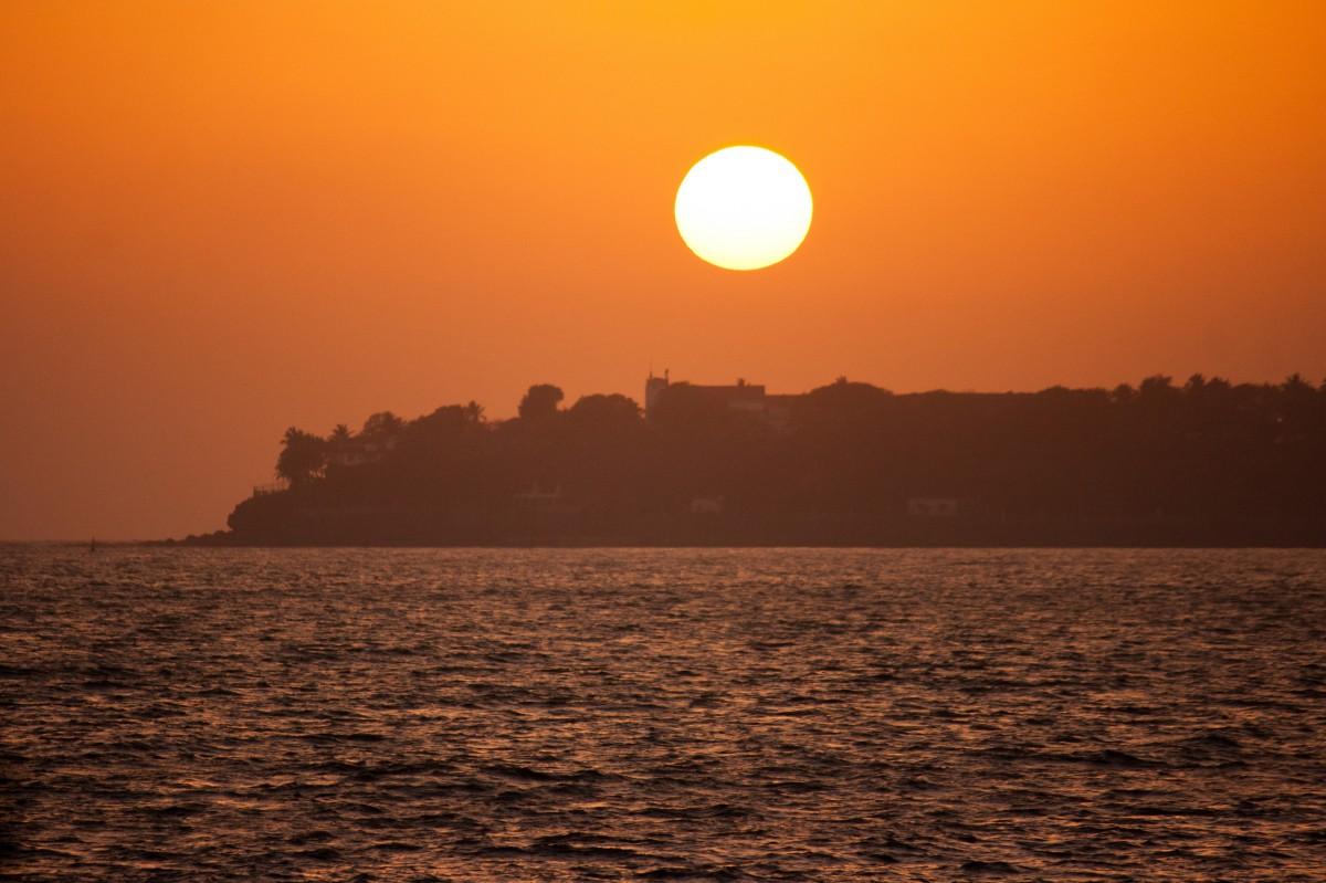 Free Images : sea, water, ocean, horizon, sun, sunrise ...