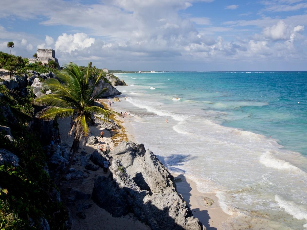 tulum ruinas mayas quintana roo riviera maya mexico