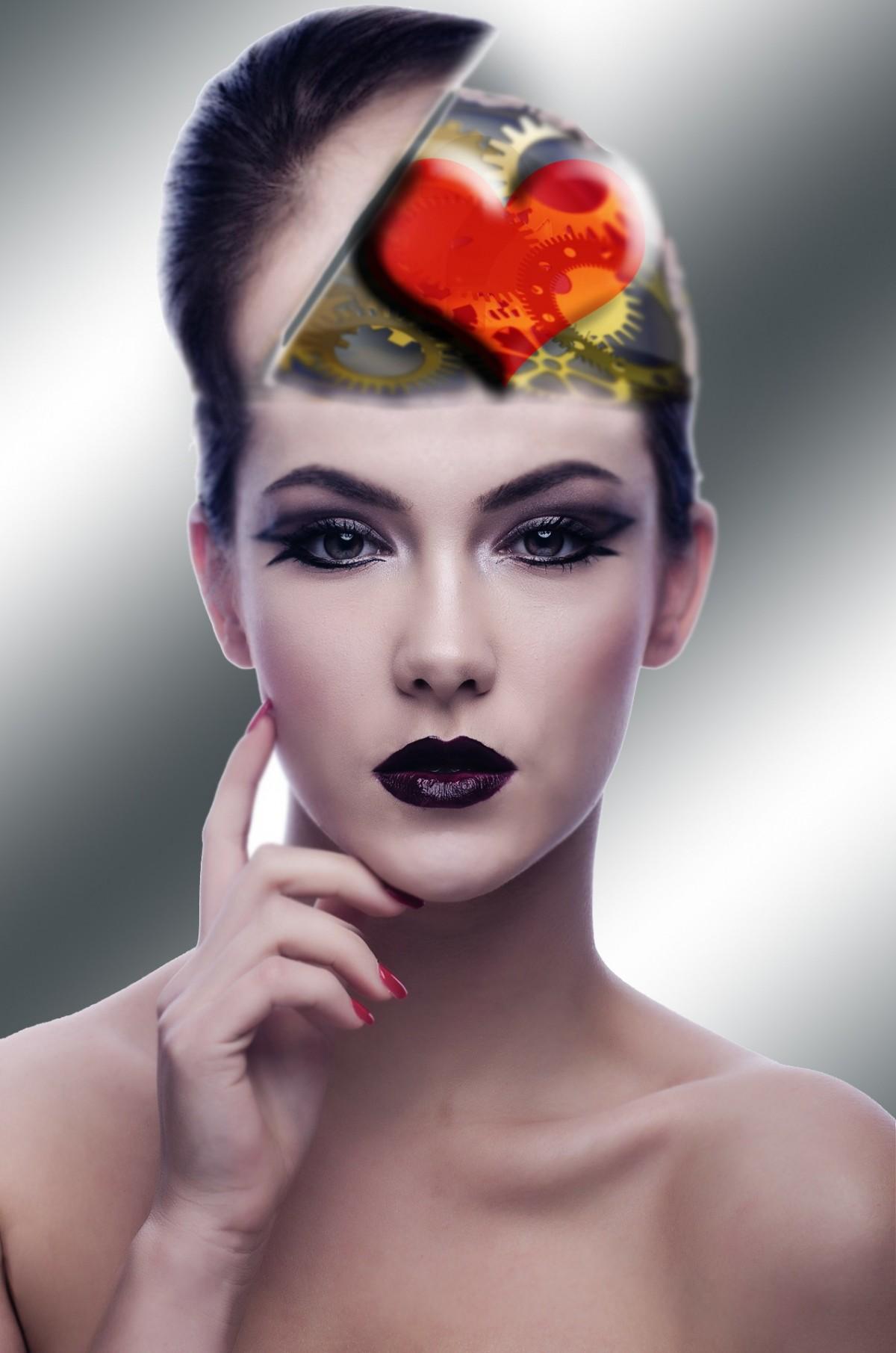 Днем рождения, картинки красивые женские головки