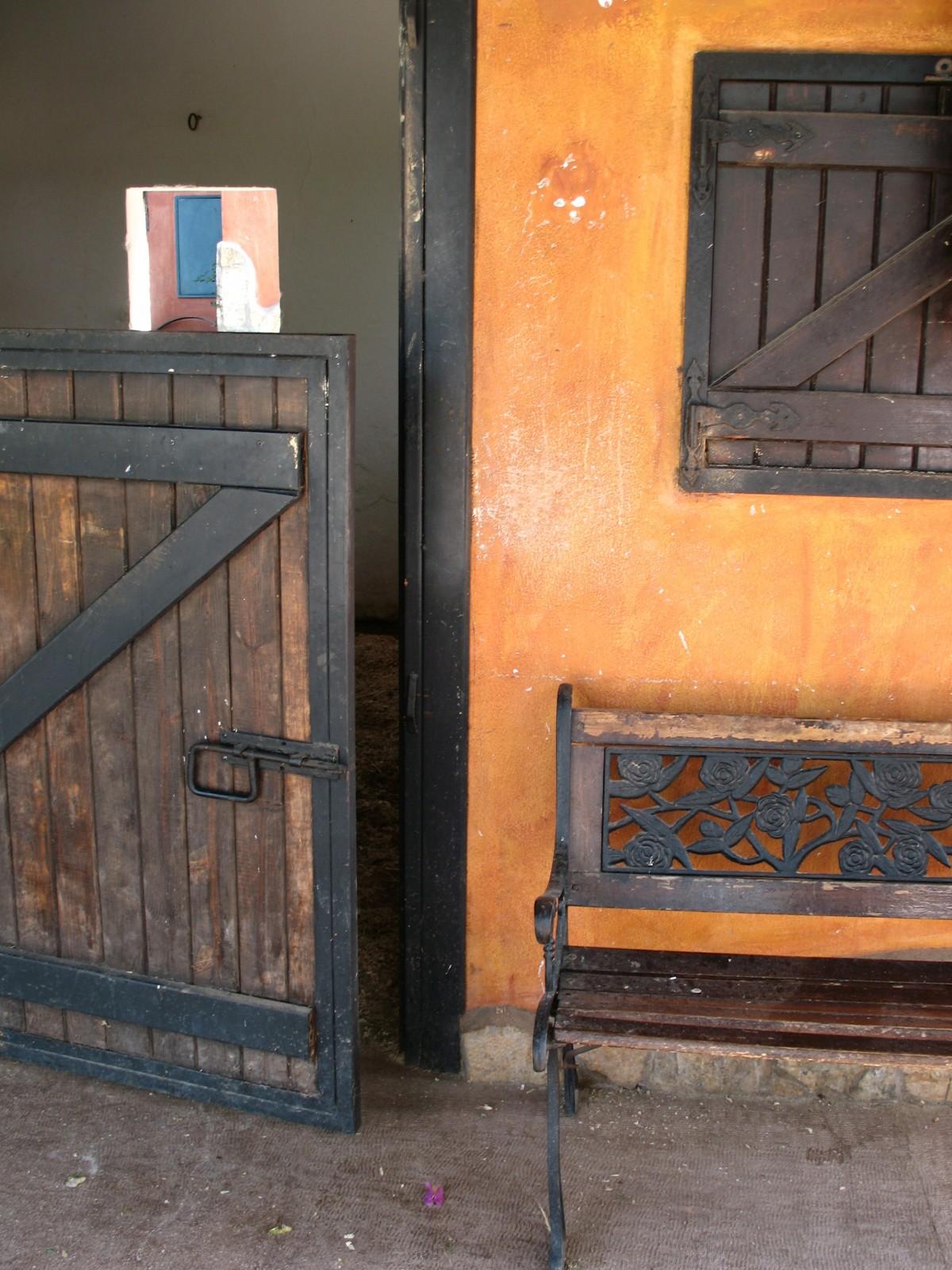 Fotos Gratis Madera Granja Casa Ventana Pared Pintar Arte  # Jutlandia Muebles