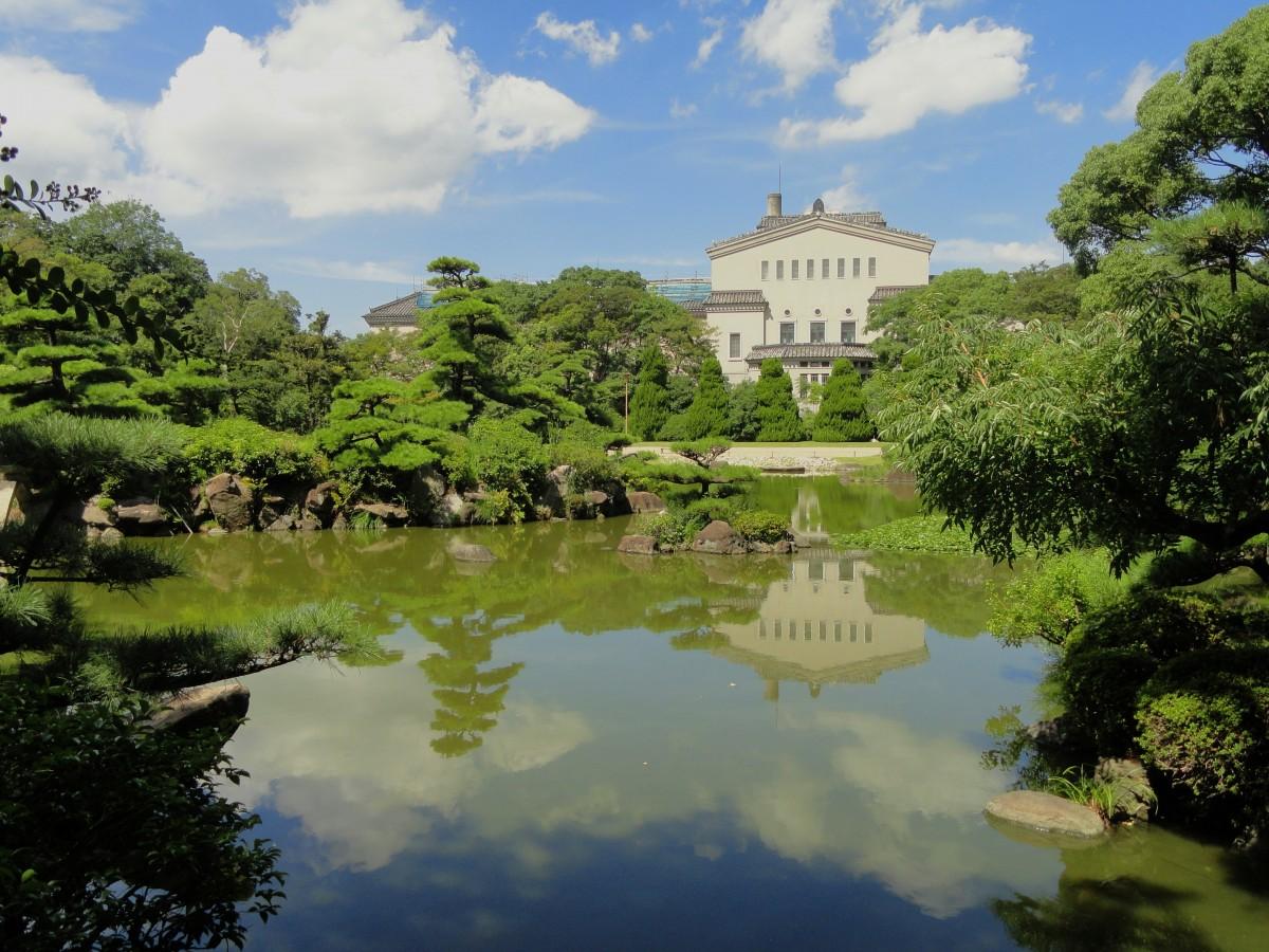 Fotos gratis rbol agua naturaleza cielo flor for Estanque reflectante