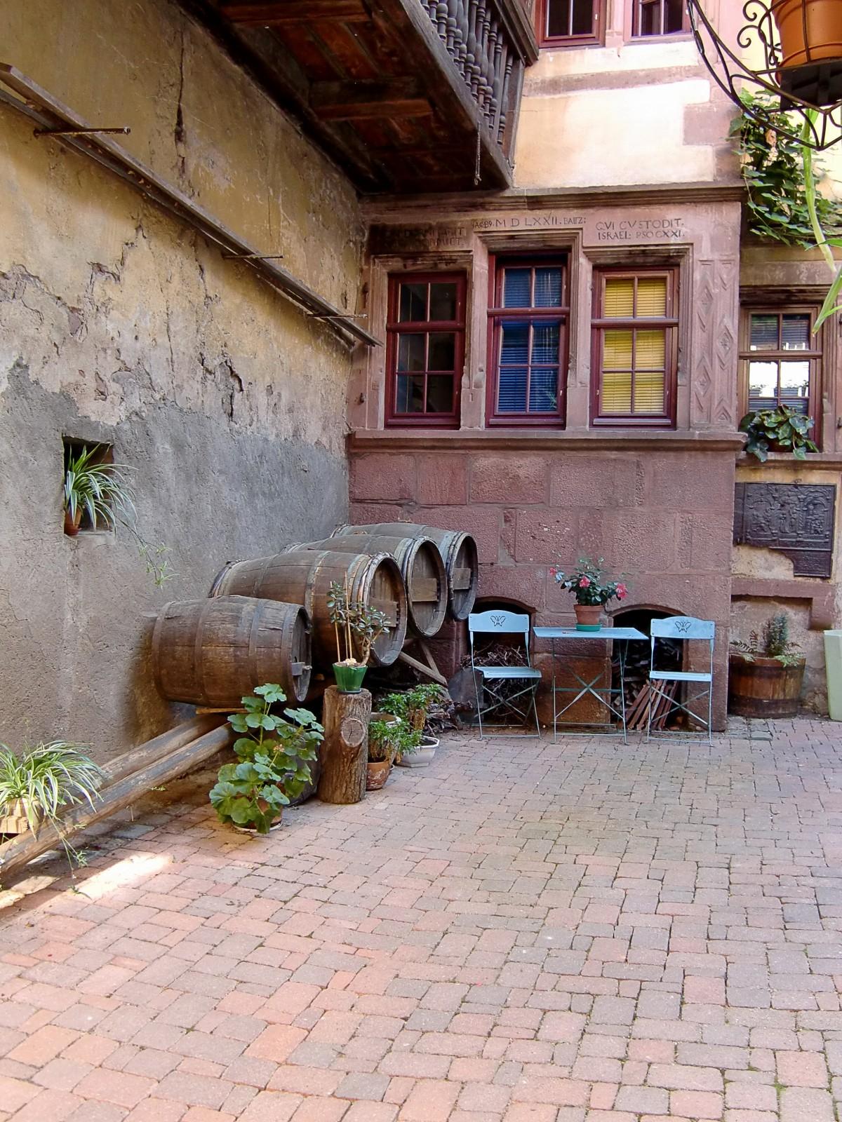 Immagini Belle Casa Sede Parete Passerella Francia