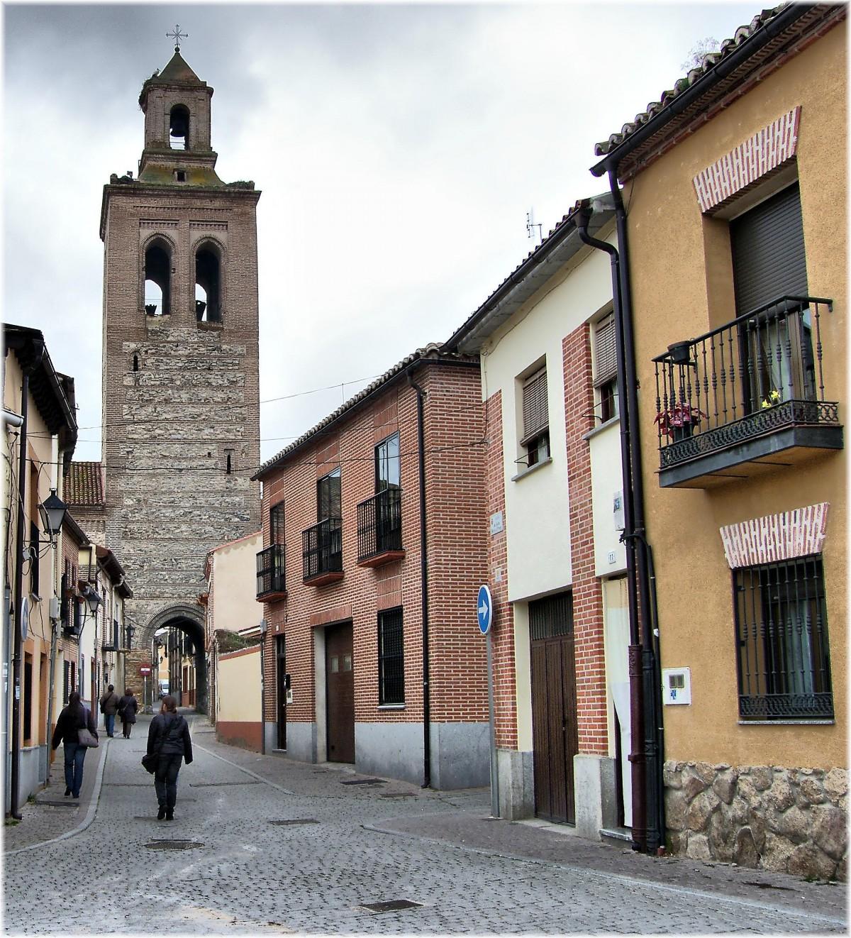 Fotos gratis arquitectura la carretera calle pueblo for Arquitectura mozarabe