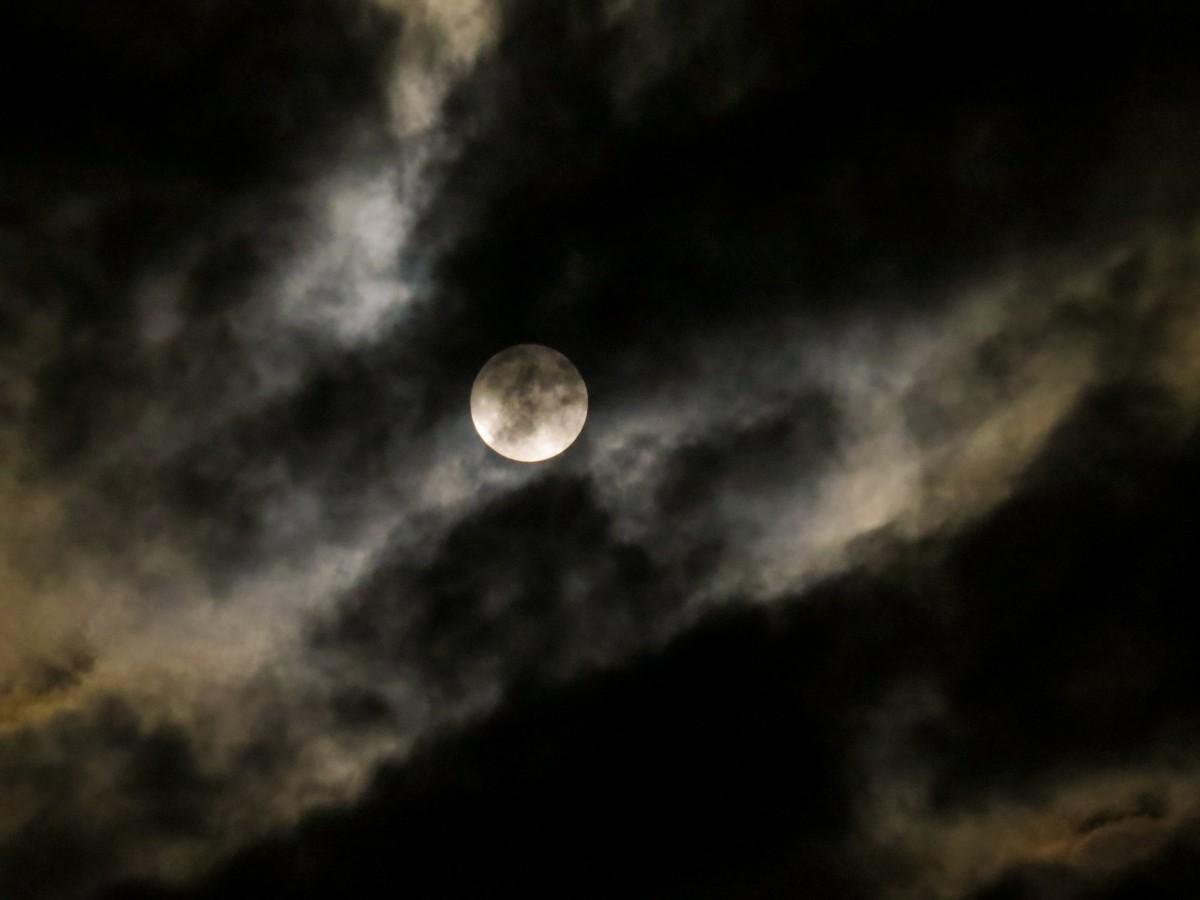 Fotos gratis noche atm sfera m stico oscuridad luna for Moonlight iluminacion